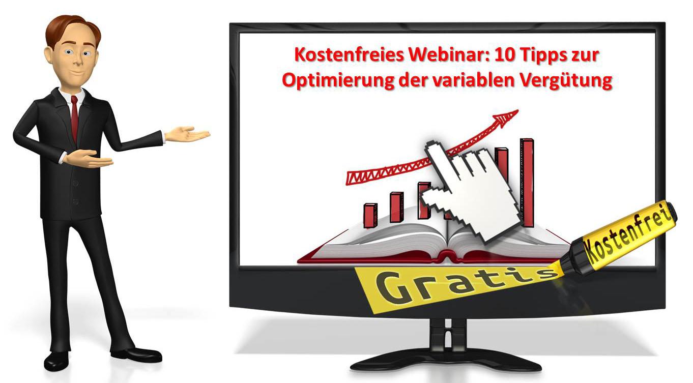 Webinar: 10 Tipps zur Optimierung der variablen Vergütung
